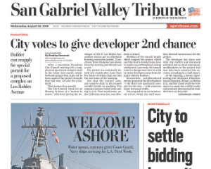 San Gabriel Valley Tribune